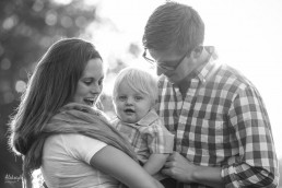 Hoyt Lake Buffalo Family Photo Session