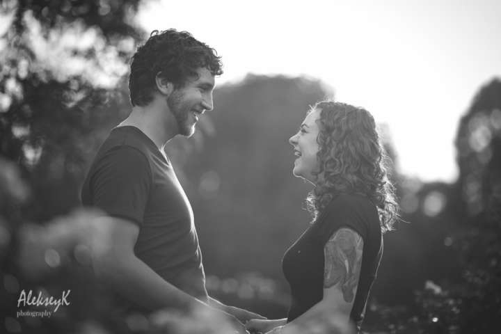 Delaware Park Engagement photography Buffalo