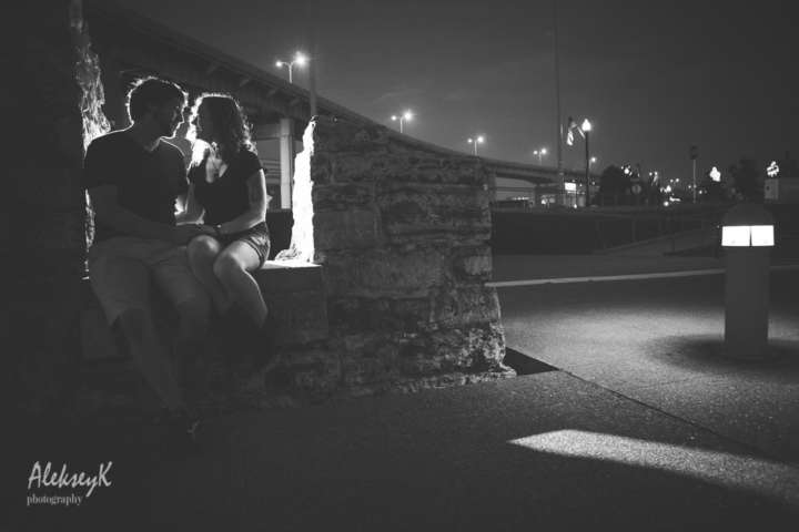 Canal side engagement photography buffalo