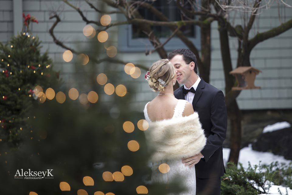 Buffalo ny winter wedding