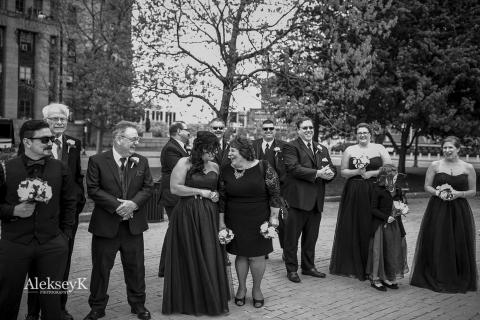 Niagara Square Wedding Photos