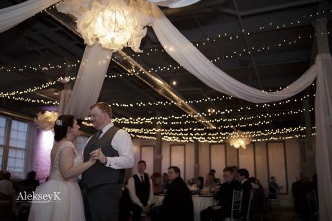 The Foundry Buffalo NY Wedding Photos | First Dance