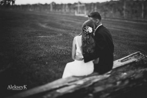 becker farms wedding photos