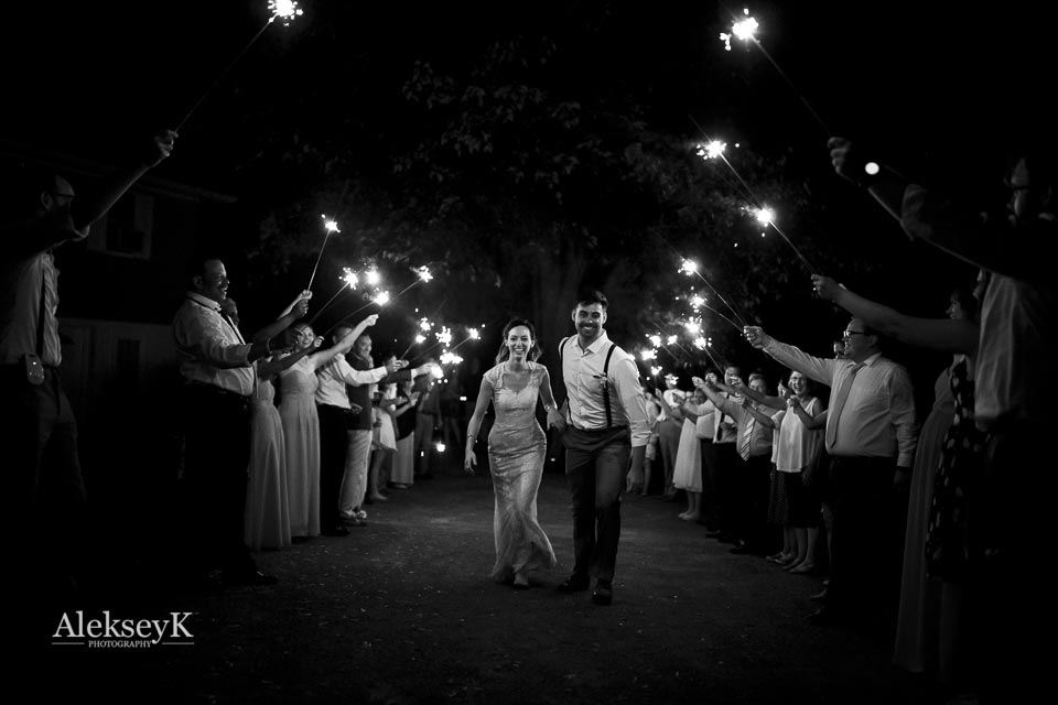 backyard wedding Rochester, NY
