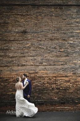 Pearl Street Brewery wedding photos