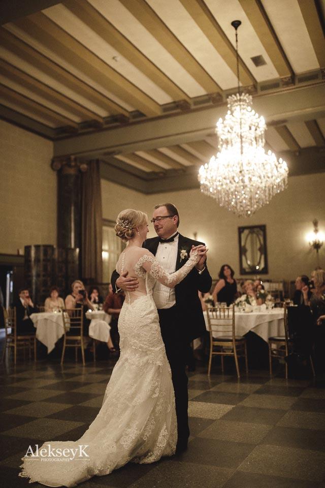 Brandon Kayla Terrace Room Statler Wedding Photos