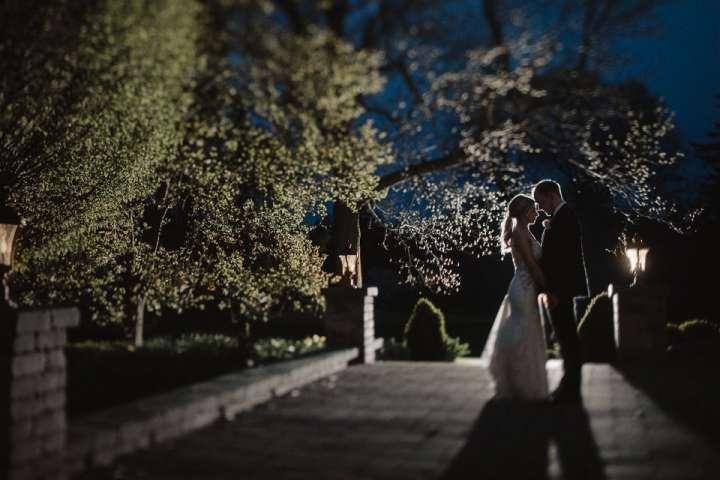 Brookfield Country Club Wedding Photos | Night Photo