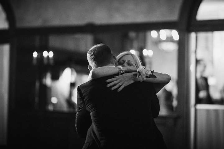 Brookfield Country Club Wedding Photos | Mother & Son Dance