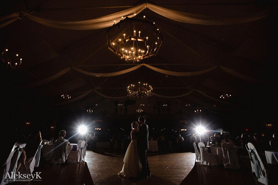 Tonawanda Castle Wedding Photography first dance