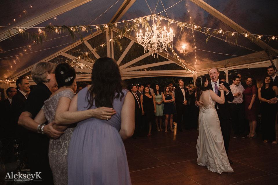Garret Club Wedding Photography | Father & Daughter Dance