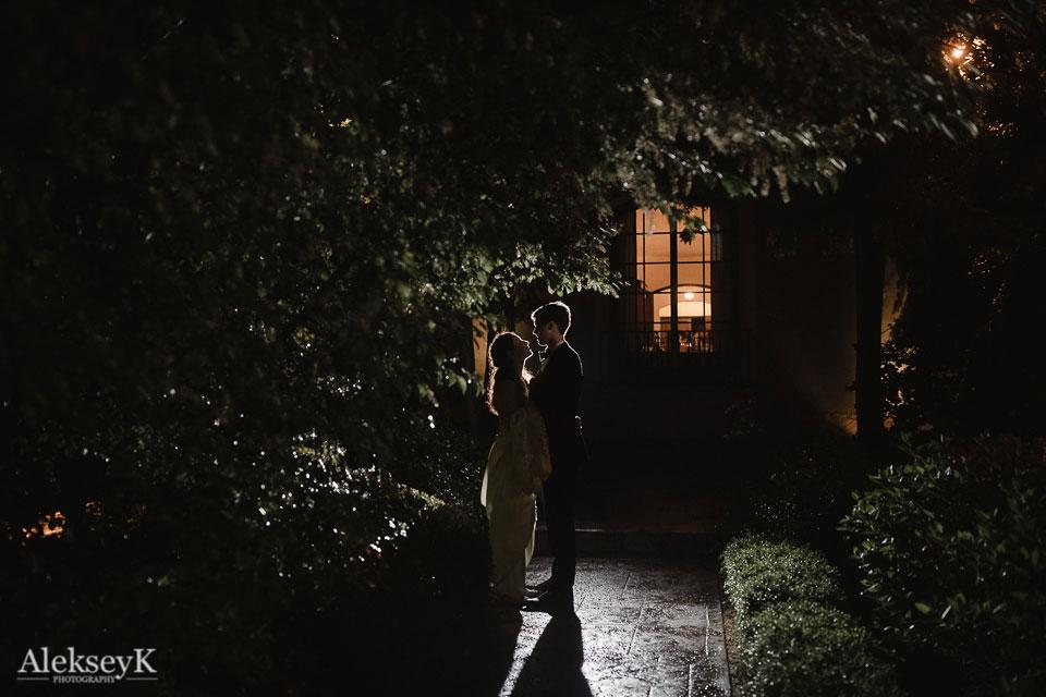 Garret Club Wedding Photography | Night Photo