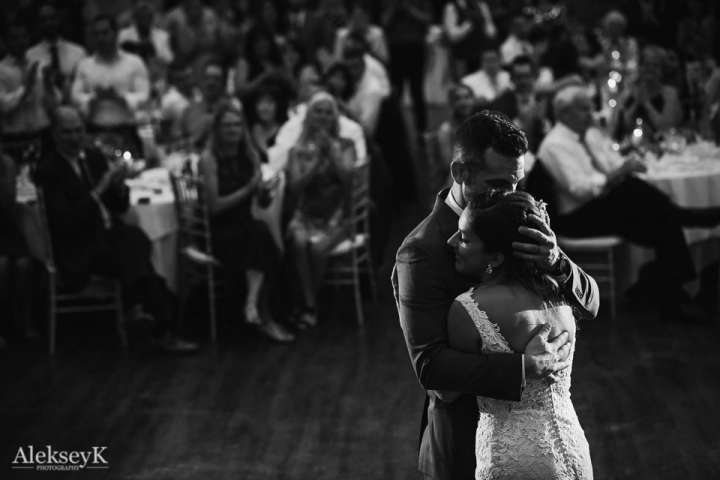 The Woods at Bear Creek Wedding Photos | first dance