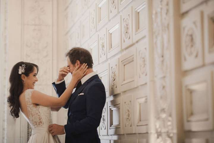 first look | hotel curtiss wedding | buffalo NY