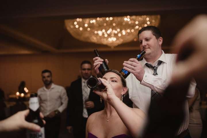 guests having fun at wedding | real moments | Thunderball