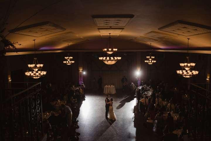 First Dance at Avanti Mansion Buffalo NY