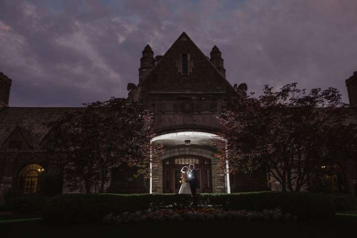 Portrait of the Bride and Groom Park CC | Buffalo NY